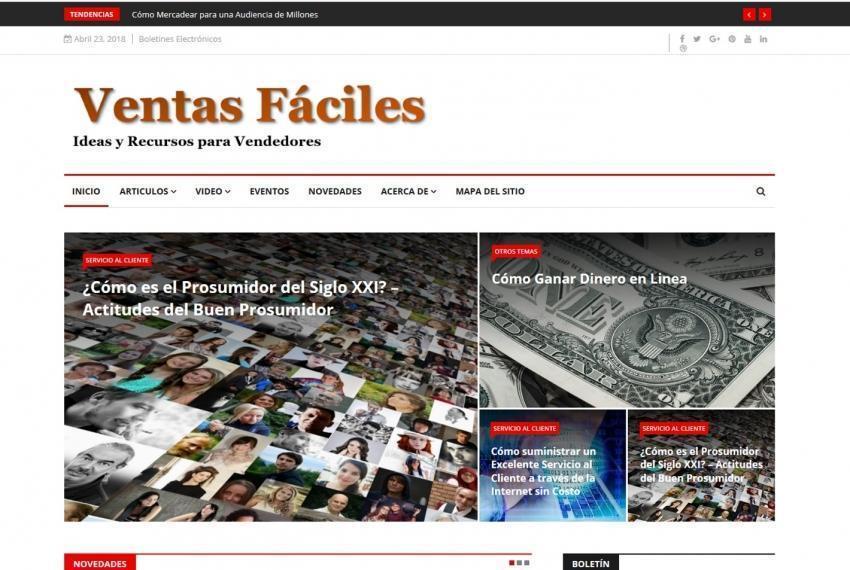 Bienvenido a VentasFaciles.COM
